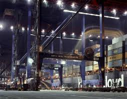 USA: New York Container Terminal, NYC